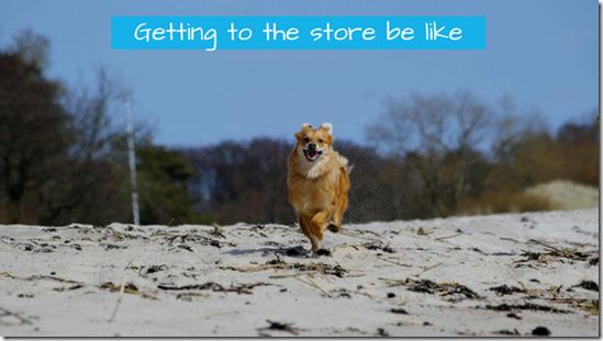 happy dog running, printing money, inflation, chrisbabu.com