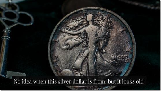 old silver dollar, printing money, inflation, chrisbabu.com
